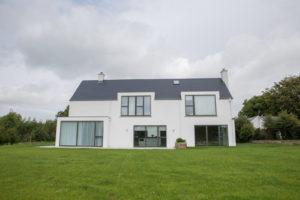 Back Of modern house CO.Meath | Mark Gilleece