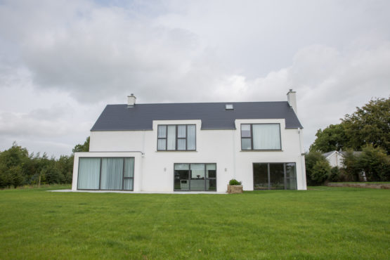 Back Of modern house CO.Meath | Mark Gilleece